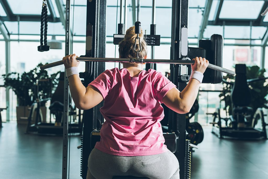 How One Woman Overcame Her Fear of Working Out in Public