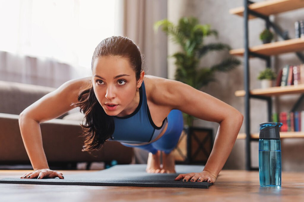 Bodybuilder & Cosmetic Surgeon Dr. Irene Tower Gives 3 Simple Tips for Staying in Shape While Stuck at Home
